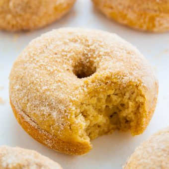 Brown Butter Cinnamon Sugar Donuts