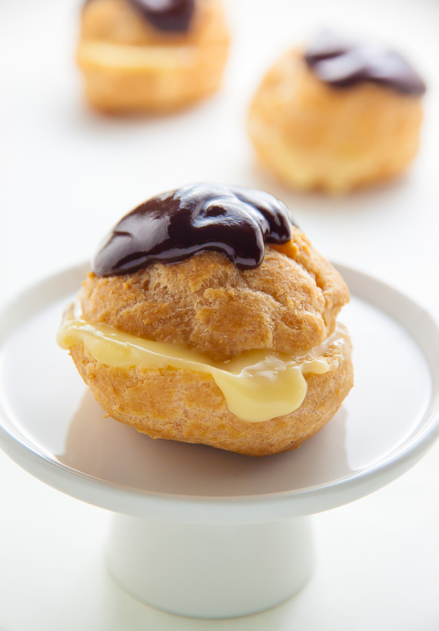 Boston Cream Puffs! These didn't last an hour in our house.