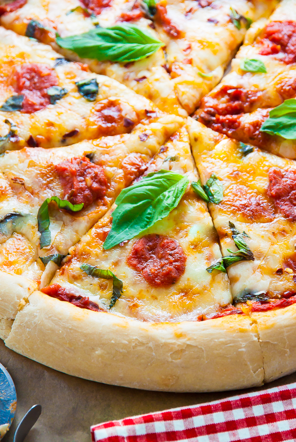 Today I'm showing you exactly how to make my favorite Margherita Pizza!