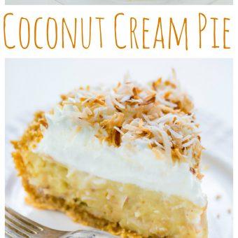My Favorite Coconut Cream Pie