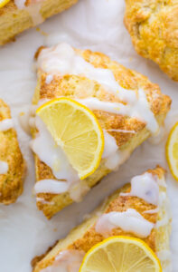 Lemon Ricotta Scones