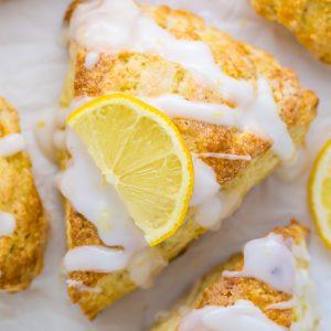 Lemon Ricotta Scones