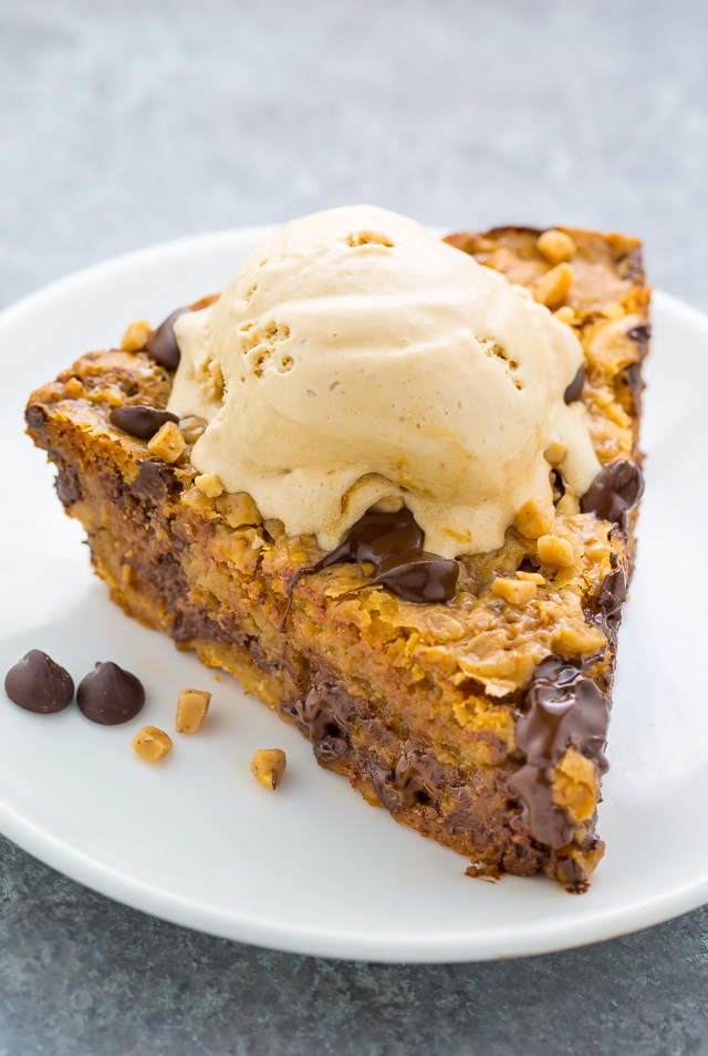 Toffee Chocolate Chip Cookie Pie Baker By Nature