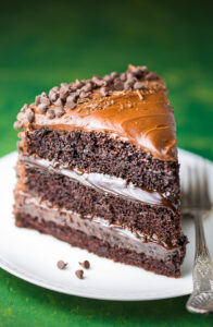 This 3-layer Death by Chocolate Cake is for SERIOUS chocolate lovers only!