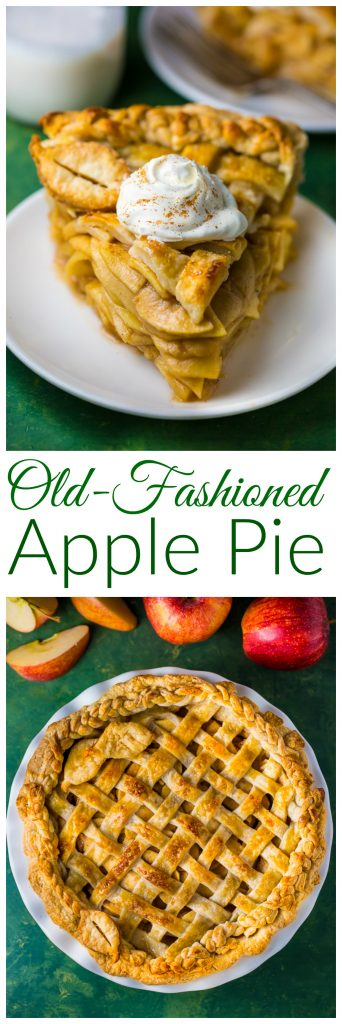foolproof recipe for Old-fashioned Apple Pie!