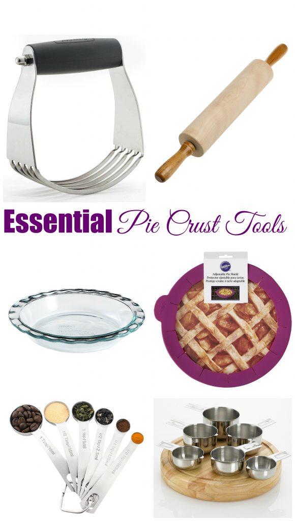 essential pie crust tools