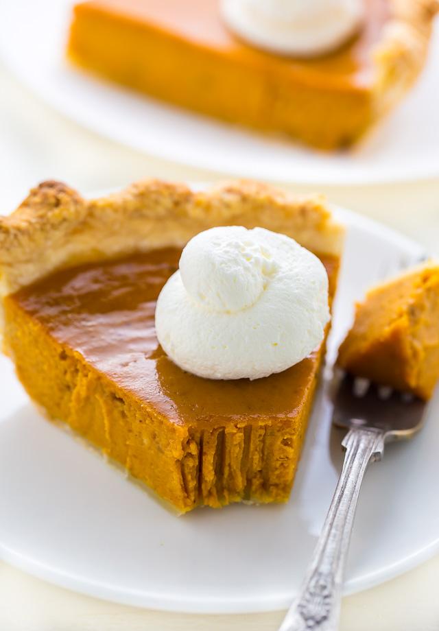 Brown Butter Pumpkin Pie - Baker by Nature