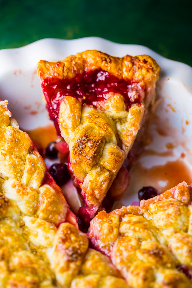 You'll impress everyone with this downright delicious Cranberry Pear Pie!