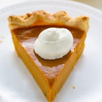 Brown Butter Pumpkin Pie