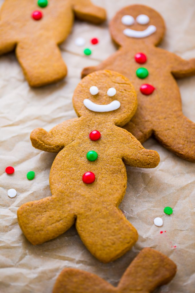 Adorably delicious Brown Butter Gingerbread Men are a MUST bake this holiday season!