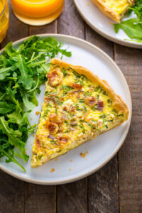 The BEST recipe for Quiche Lorraine!