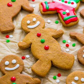 Brown Butter Gingerbread Men