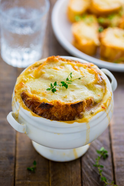 My Favorite French Onion Soup is perfect for chilly Winter nights!
