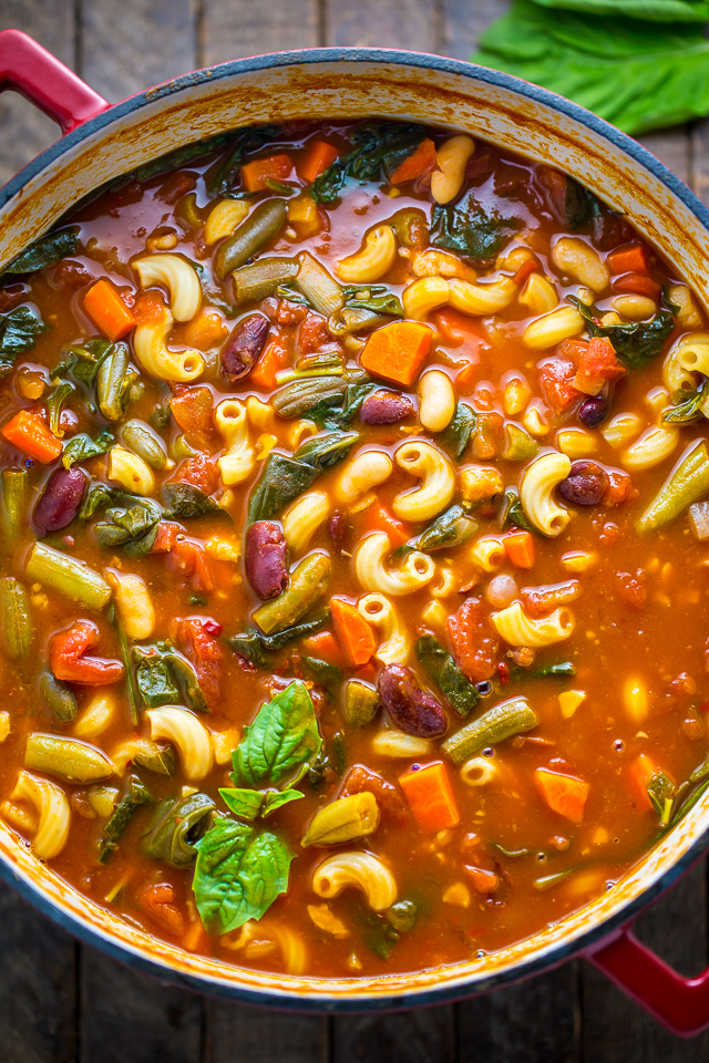 Italian Minestrone Soup Baker By Nature