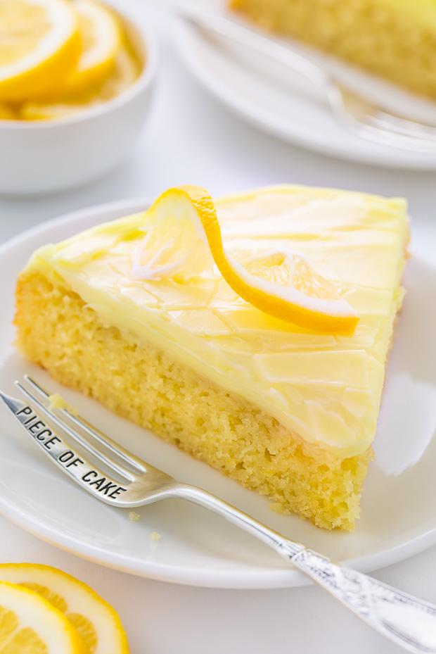 Lemon Poppy Seed Cake From Scratch Cream Cheese
