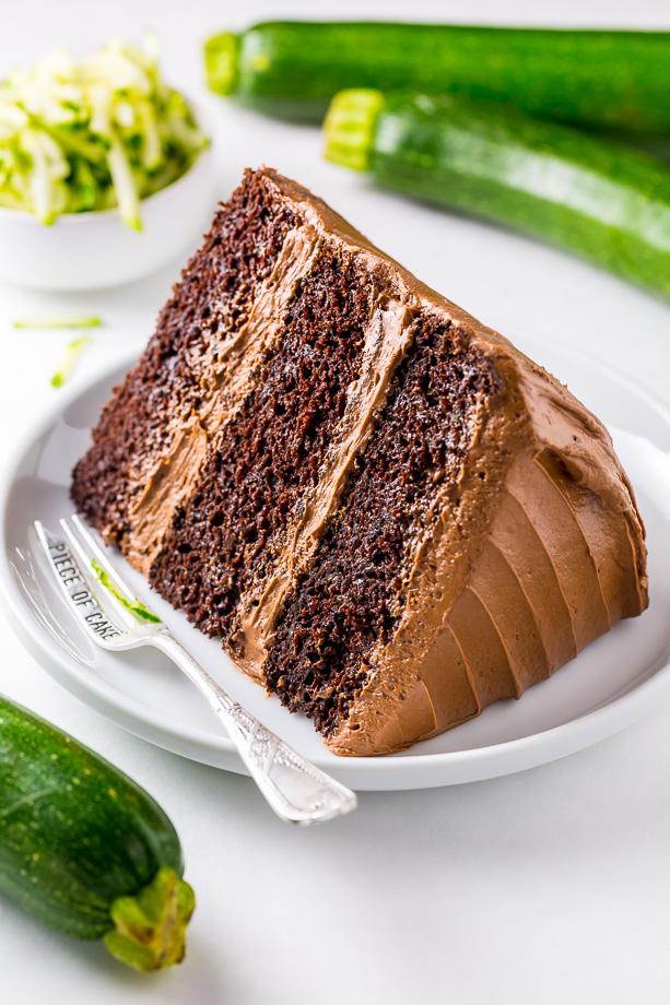 Best Chocolate Courgette Cake