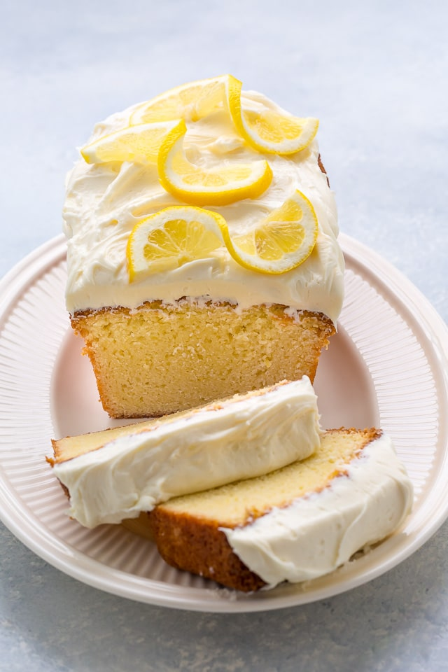 Lemon Cream Cheese Frosting For Pound Cake