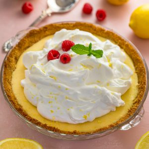 A foolproof recipe for Lemon Cream Pie! Bonus: you can make the pie up to 3 days in advance!
