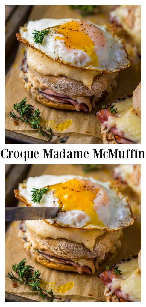 Croque Madame McMuffins