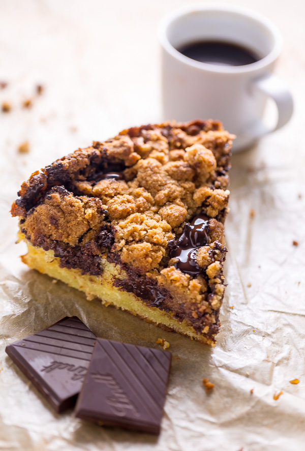 This Chocolate Swirl Coffee Cake is moist, rich, and so decadent! Perfect for so many occasions!