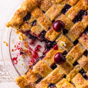 Sweet and Summery, you'll want to make this Foolproof Cherry Pie all season long! So delicious with a cup of coffee!