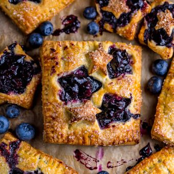 Blueberry Bourbon Hand Pies