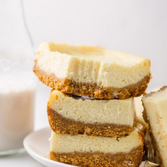 New York-Style Cheesecake Bars