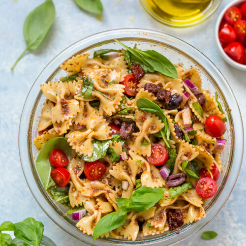 You're going to love this fresh and flavorful pasta salad! And it's delicious served cold, warm, or at room temperature. Try it once... crave it ALWAYS!