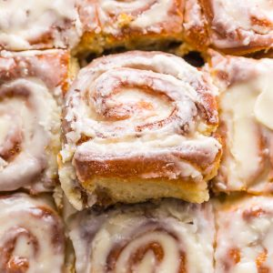 Say hello to the BEST Easy Overnight Cinnamon Rolls! So fluffy and delicious you'll want to make them every weekend!