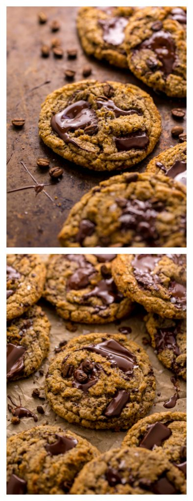 Coffee Cardamom Chocolate Chunk Cookies are thick, chewy, and so flavorful! The best part is they're freezer friendly!!!