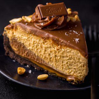 Creamy Milk Chocolate Peanut Butter Pie