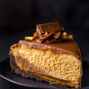Say hello to your new favorite dessert: Milk Chocolate Peanut Butter Pie! Each bite is creamy, crunchy, and so CHOCOLATEY!!!