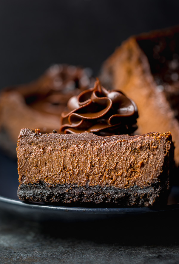 These easy chocolate cheesecake bars are so decadent and a chocolate lovers dream come true!