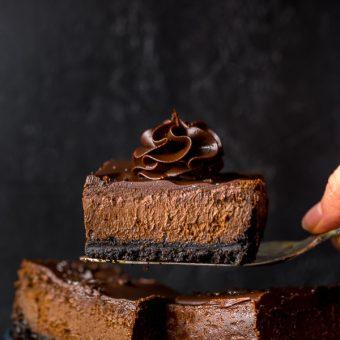 Easy Chocolate Cheesecake Bars