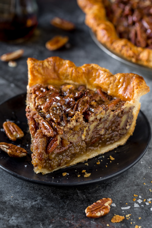 No Corn Syrup Pecan Pie Made With Real Maple Syrup
