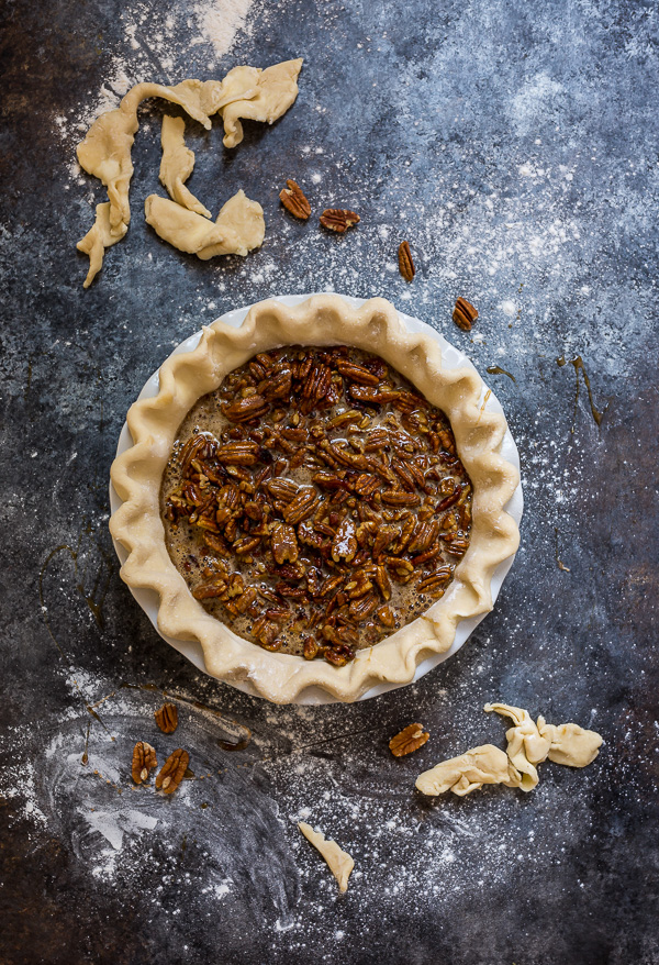 If you've been searching for a no corn syrup pecan pie that tastes AMAZING, look no further! Because this recipe is pure perfection. And sure to be a hit at your holiday celebrations!