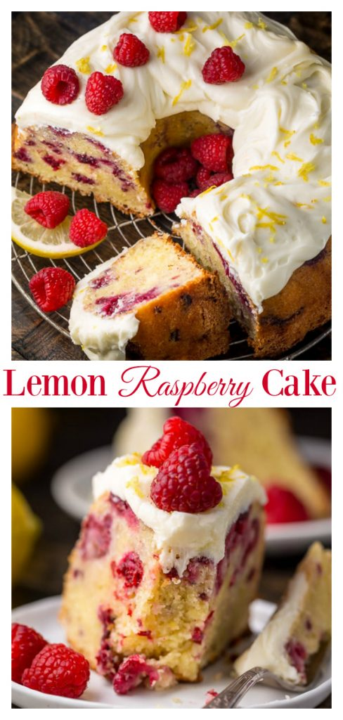 Lemon Raspberry Cake Bundt Recipe