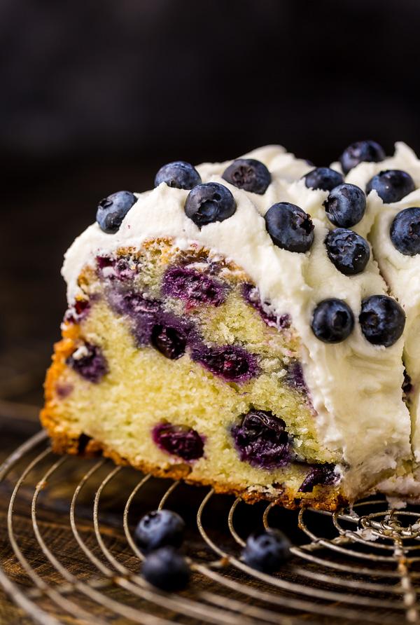 The Best Blueberry Bundt Cake Baker By Nature