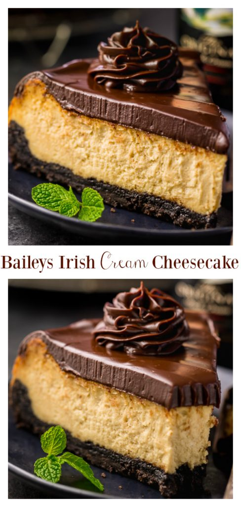 Baileys Irish Cream Cheesecake23456y