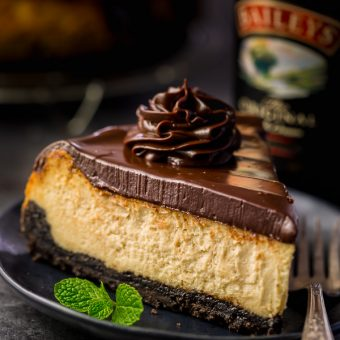 Baileys Irish Cream Cheesecake