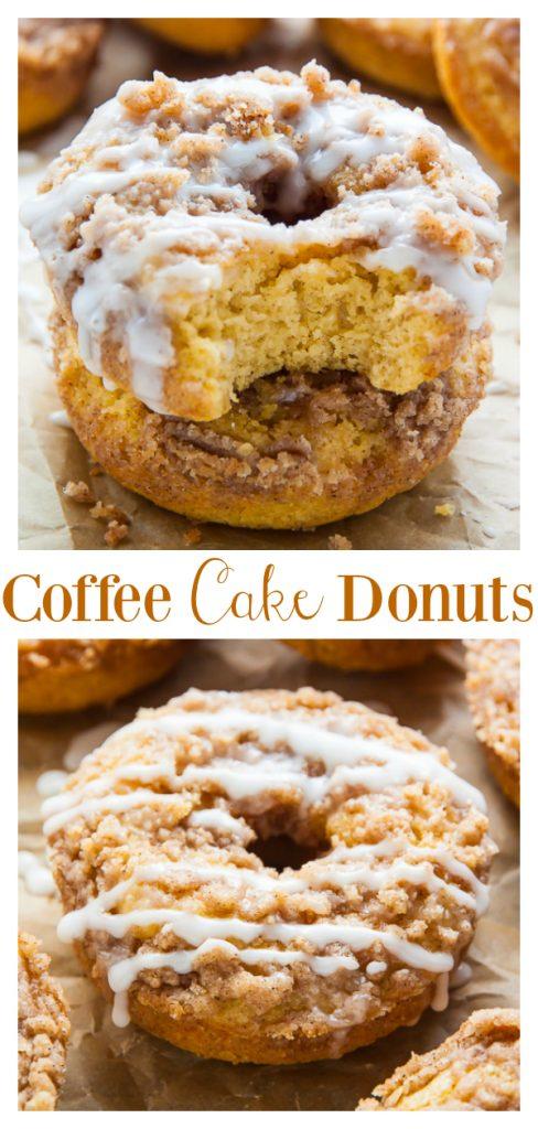 Coffee Cake Donuts Recipe