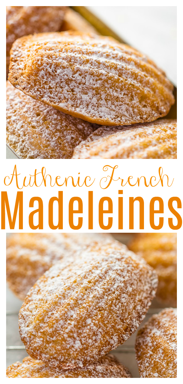 Today I'm teaching you exactly how to make Classic French Madeleines! They taste just like the ones you'd find in a Parisian boulangerie! These soft sea shell shaped cookie cakes care so good with a cup of tea!