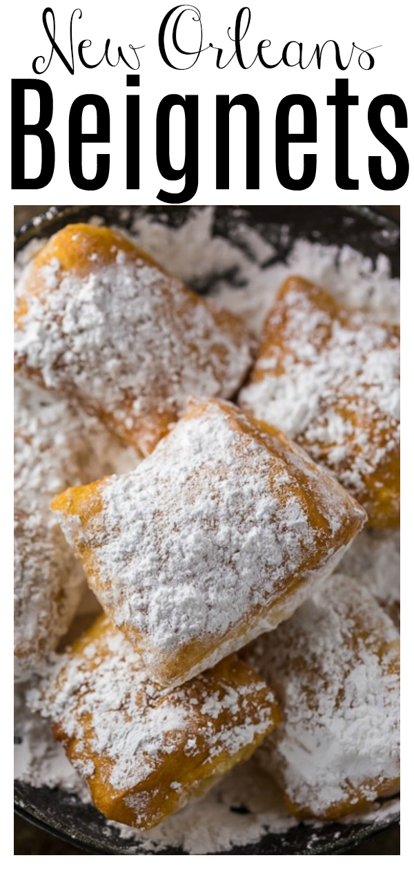 Now you can have New Orleans-Style Beignets without leaving the comfort of your home! If you've never enjoyed these soft and pillowy fried doughnuts before, you're in for a treat. Because this is the best beignet recipe!