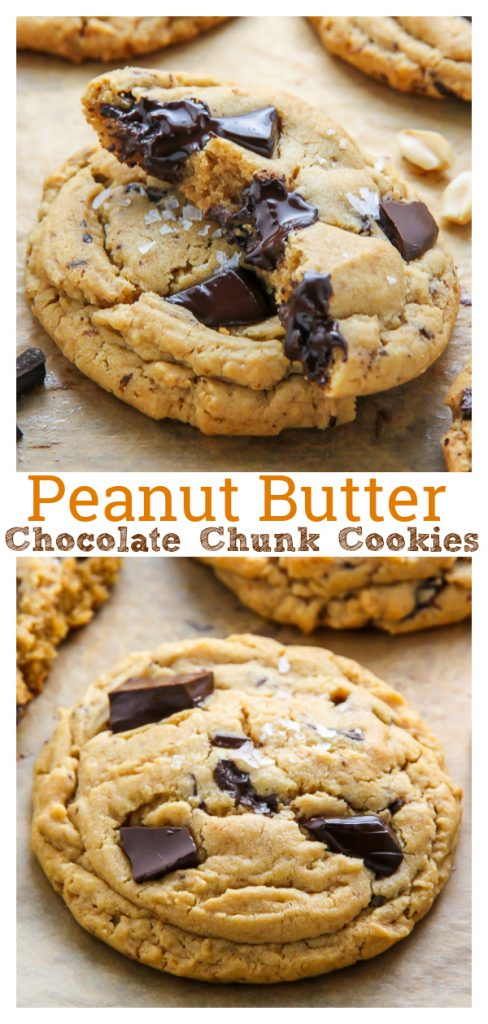 These are the BEST Soft Batch Chocolate Chunk Peanut Butter Cookies! Made with brown sugar, creamy peanut butter, and high-quality chocolate, these cookies are sure to become a family favorite!!! A must try for peanut butter lovers!