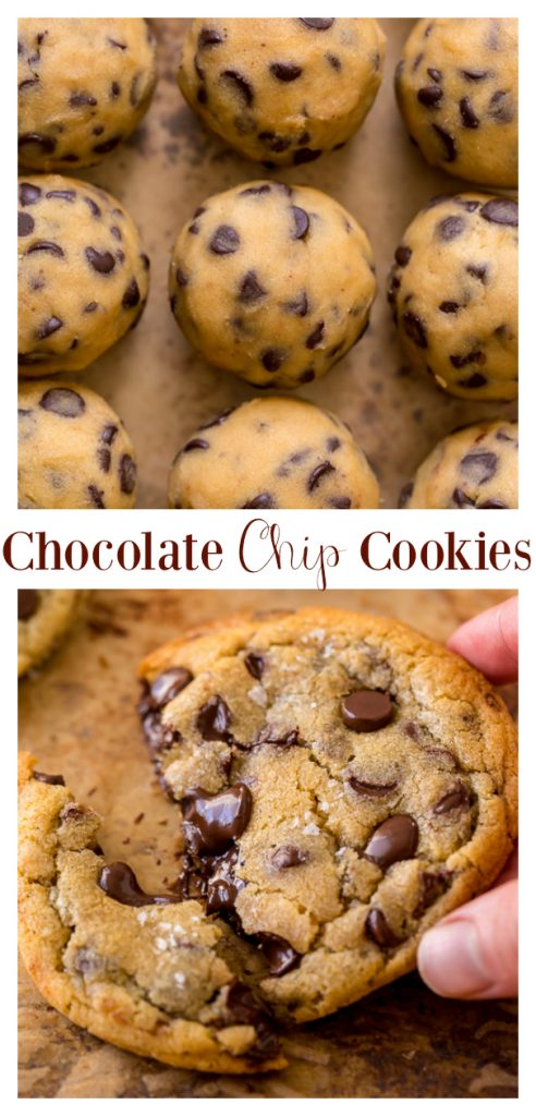 Everyday Chocolate Chip Cookies are soft, chewy, and so delicious! Made with brown butter, they're extra flavorful. Kids and adults love these chewy chocolate chip cookies!