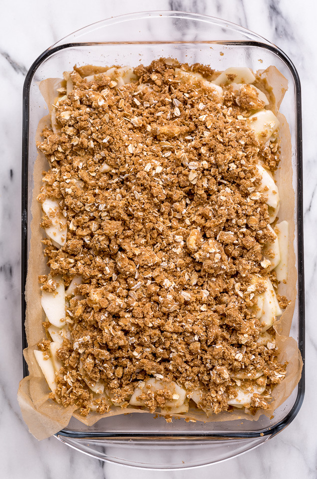 Apple Crisp Bars.