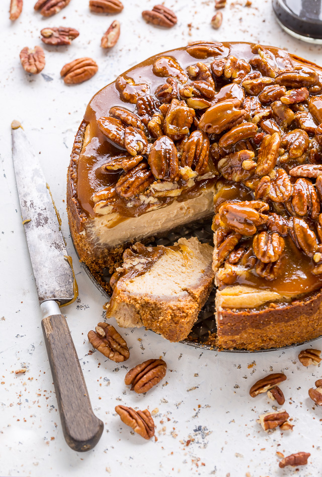 Pecan Pie Cheesecake Baker By Nature