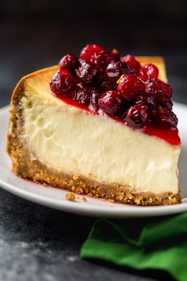 Orange Ricotta Cheesecake
