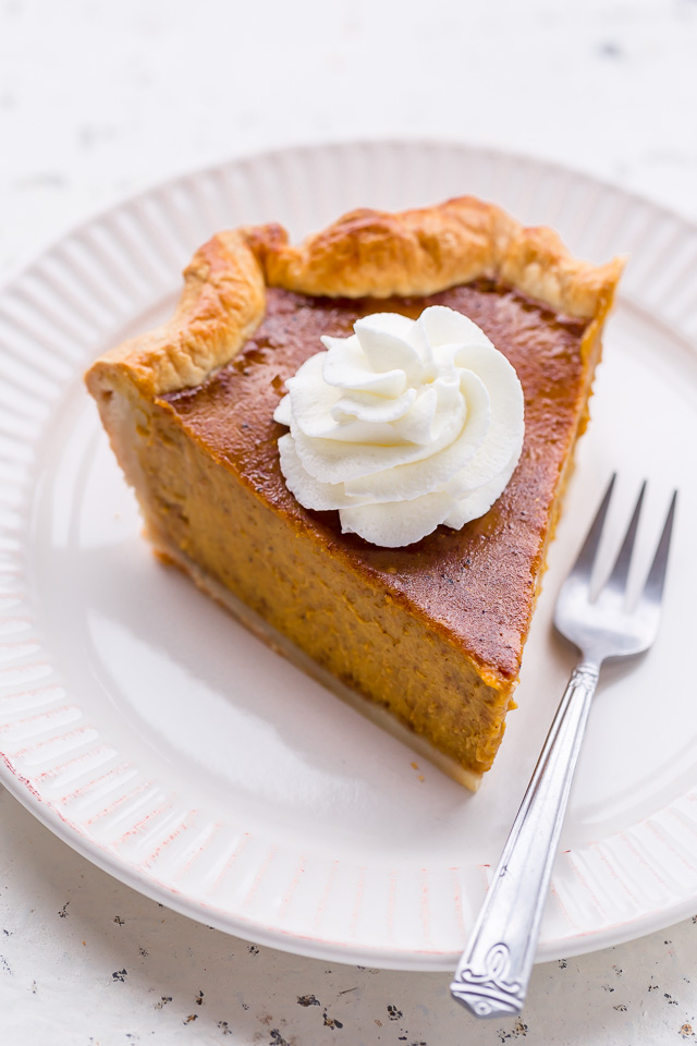Bourbon Pumpkin Pie