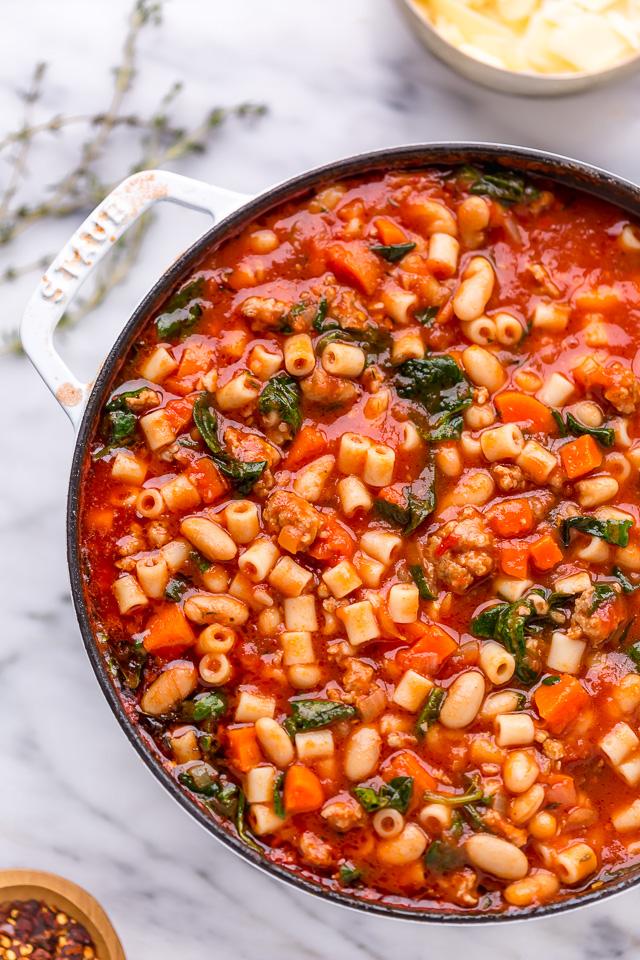 Easy Pasta Fagioli Soup Recipe (1 of 1)